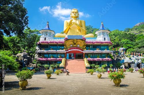 obraz lub plakat Złota Świątynia Dambulla. Sri Lanka
