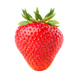 strawberry isolated on the white background