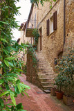 Ancient Alley in Tuscany - 83849735