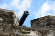 Постер, плакат: Fortress Cannon at Castle of San Marcos St Augustine Florida