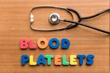 Blood platelets poster