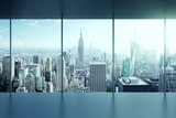 Fototapety modern empty office interior