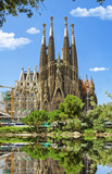 BARCELONA, SPAIN -Sagrada Familia.