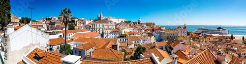 Foto op Canvas Europa Panorama of Lisbon
