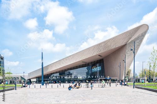Fotobehang Rotterdam Centraal Station, Rotterdam, The Netherlands