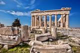 Fototapety Parthenon temple on the Acropolis in Athens, Greece