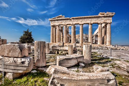 Papiers peints Athenes Parthenon temple on the Acropolis in Athens, Greece