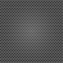 Grid grau Metall, schwarzer Hintergrund