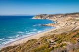 Fototapety Summer landscape of Gibraltar strait, Morocco
