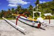 Постер, плакат: Traditional rocker catamaran Nusa Penida in Indonesia