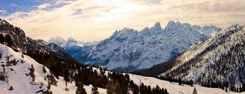 Sunrise in the Italian Alps