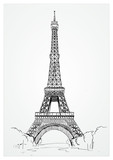 Fototapeta Paris - The Eiffel Tower © John Kichote