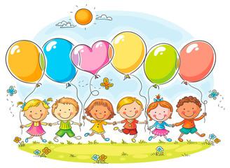 Dzieci z balonów
