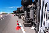 Fototapety crashed truck
