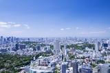 Fototapety 超広角で望む 東京全景 新宿 池袋