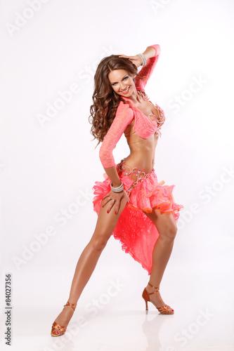Fototapeta dancer woman latino