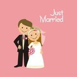Pareja de recién casados CF2