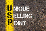 Business Acronym USP as UNIQUE SELLING POINT poster