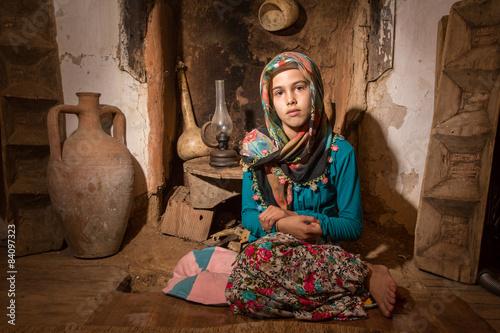 Poster Köylü Kız