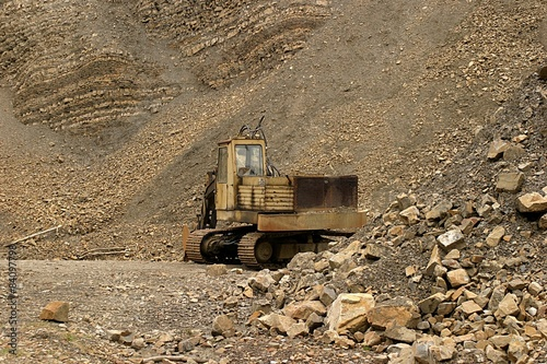 Kopara w kamieniołomie