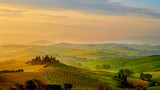 Beautiful Tuscany hills, Italy.