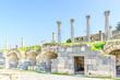 Columns of Umm Qais in northern Jordan.