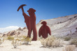 Symbolic Emblem of the Abandoned Miner's Ghost City Rhyolite in