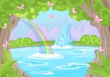 Fototapety Fabulous Waterfall
