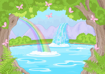 Fabulous Waterfall