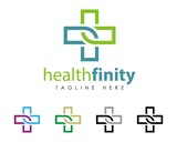 Healthcare Cross Sign Logo Template v.3