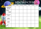 Fototapety Childs Reward or Chore Chart