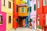 Fototapety The island of Burano. Italy.