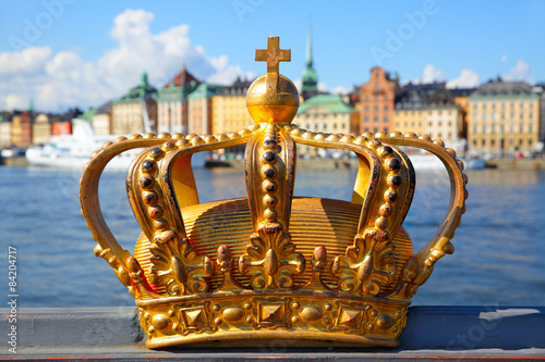Aluminium Stockholm Crown in Stockholm