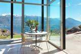 aperitif on the veranda, interior - 84205393
