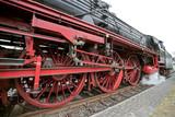 Naklejka Dampflokomotive
