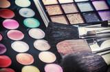 Fototapety Make-up colorful eyeshadow palettes