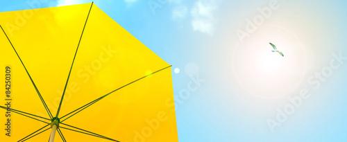 Papiers peints Jaune Sunshade