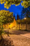 Freyburg/Unstrut in der Abenddämmerung - 84255912