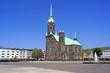Leinwanddruck Bild - MÖNCHENGLADBACH-RHEYDT mit evangelischer Hauptkirche