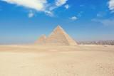Fototapeta The Pyramids in Egypt, Giza