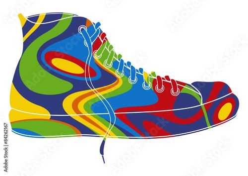 Fototapeta Basket pop art