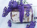 Fototapety handmade lavender soap