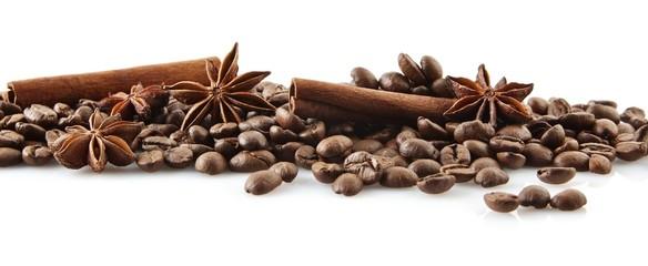 Fototapeta kawa i przyprawy