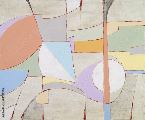 an abstract painting - 84268330