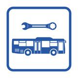 Icono reparacion autobus lateral