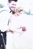 Fototapety Hochzeitspaar Vintage