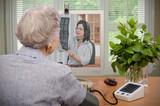 Visit to virtual physician