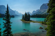 Spirit Island & Maligne Lake in Jasper National Park