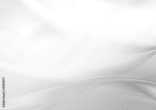 Abstract grey pearl smooth waves