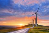 wind turbines in Oiz eolic park - 84308101